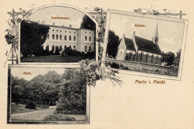 Guts- & Herrenhäuser / Gutshäuser - M / Marihn