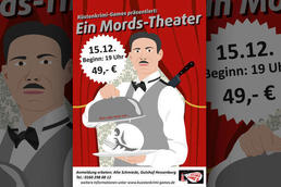 Mords-Theater in der Schmiede