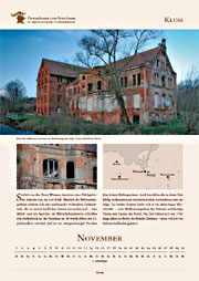 Kluss manor in calendar 2016