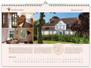 Bassendorf manor house in calendar 2021