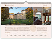 Kölzow manor house in calendar 2021
