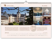 Castle Ralswiek in the calendar 2021