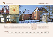 Turow Castle in calendar 2019