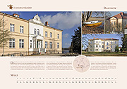 Daschow manor in calendar 2019