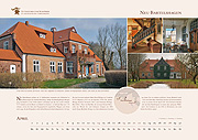 Neu Bartelshagen manor in calendar 2019