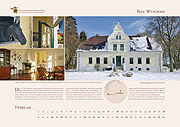 Neu Wendorf manor in calendar 2019