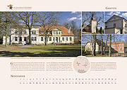 Manor house Greven in calendar 2019