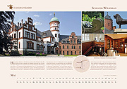 Wiligrad Castle in calendar 2019